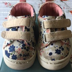 Toms Shoes - Toms Floral Toddler Lenny Mid Sneaker Sz 3